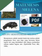 Hematemesis Melena