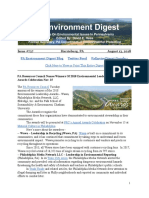 Pa Environment Digest August 13, 2018