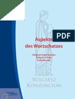 Aspekte Des Deutschen Wortschatzes