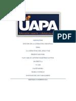 TAREA 1 DE ESTUDIO DE LA LITERATURA ESPAÑOLA.docx
