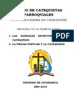 Curso de Catequistas Parroquiales