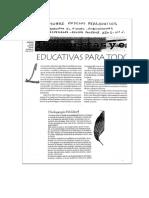 Resumen Sobre Modelos Pedagogicos y Tres Lecturas Adicionales Sobre Pedagogia