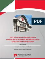 Guía técnica legislativa