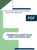 Pembinaan Akseptor Kb
