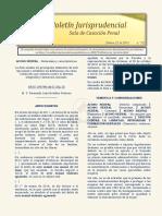 Boletín Jurisprudencial 2018-02-22