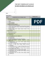 Validasi-Verifikasi Dokumen 1, K-13 15-16