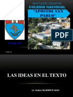 Las Ideas en El Texto I