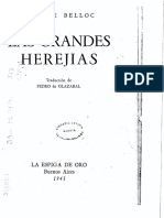 Las Grandes Herejías - Hilaire Belloc
