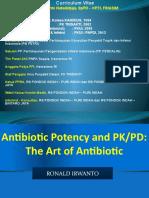 - ANTIBIOTIC PK PD THE ART of ANTIBIOTIC ( Dr. RI ).pptx