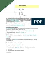 ácido vainíllico