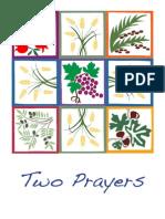Two Prayers