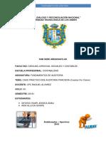 Auditoria Financiera Caso Practico