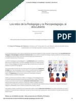 Los retos de la Pedagogía y la Psicopedagogía, al descubierto - educaweb.com