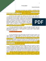 Renato Perissoto - Por que Golpe?