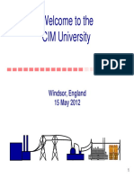 CIM Standards Overview CIM U Windsor Part 1