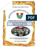 Plan de Trabajo Festival de Lectura_2018