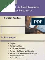 03 - Perisian Aplikasi