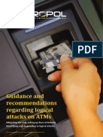 EuroPol Guidance Recommendations ATM Logical Attacks
