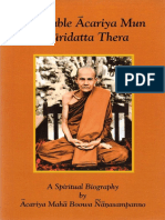 A Spiritual Biography Acariya Mun