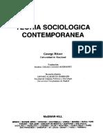 Ritzer Teoria Sociologica Contempo Prefacio