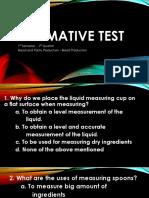 Summative Test