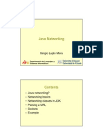 Java Networking