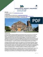 Syllabus Philippines Bicol 2018