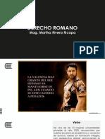 Sesión de Aprendizaje 1 - El Derecho Romano