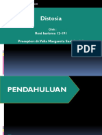 Padang Css Distosia