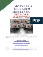 A linguagem secreta do network marketing