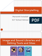 Tools for Digital Storytelling