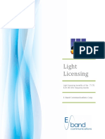 Eband Light Licensing White Paper V051310