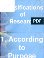 Lesson 4 Classification of Research