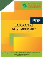 Cover Laporan K3