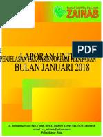 Cover Laporan Unit K3 Bulan Januari 2018