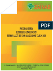 Cover Program Kerja Kesehatan Lingkungan Tahun 2018