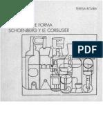 Problemas de Forma - Schoen Berg y Le Corbusier (Spa)