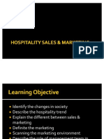 Section 3 - Hospitality Marketing & Sales