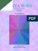 Theta Wave Oracle Companion Booklet