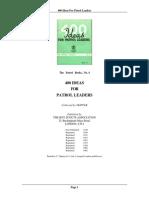 400 Ideas for Patrol Leaders
