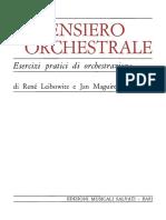 Leibowitz - Il Pensiero Orchestrale
