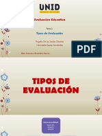 Tema 2. Tipos de Evaluación Exposición