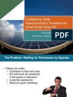 Solar Focus Interconnection Process Improvement