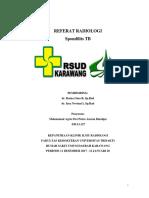 Referat Radiologi Spondilitis Tb