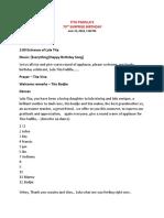 Program Script
