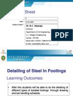 Rein f Detail Footing Col