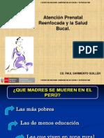 Salud Bucal -  Embarazo