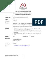 ACCT 301 Course Syllabus