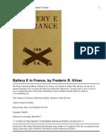 Battery E in France