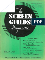 The Screen Guilds' Magazine V3 NO1 March 1936